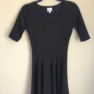 Solid black Nicole Dress